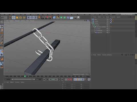 Tutoriel Cinéma 4D_Créer une chaîne Dynamique - FLASH DESIGN