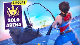 Playing Arena for 8 Hours STRAIGHT in Season 3! (Fortnite Battle Royale)