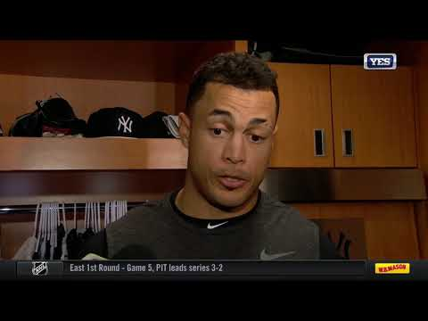 Giancarlo Stanton homers in cleanup spot for Yanks