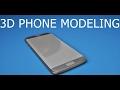 CINEMA 4D   PHONE   MODELING   TUTORIAL