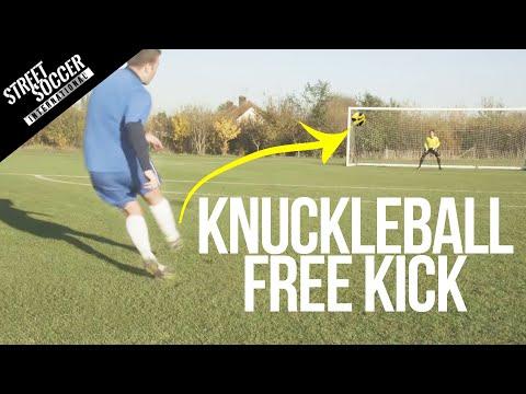 Learn Ronaldo Free Kick - knuckle ball tutorial