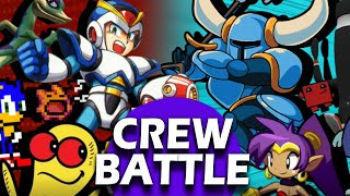 10v10 Crew Battle - CUSTOM STAGES ONLY! (Team Retro vs Team Indie)