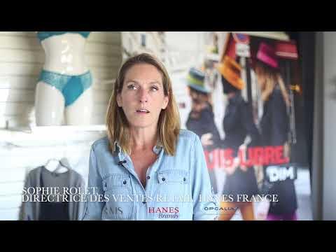 Vision de la Directrice des ventes Retail, Hanes France