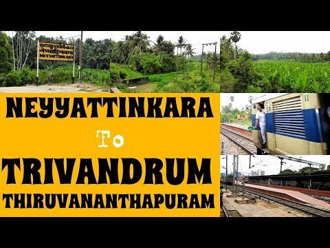 Neyyattinkara to Thiruvananthapuram - Full Journey Compilation