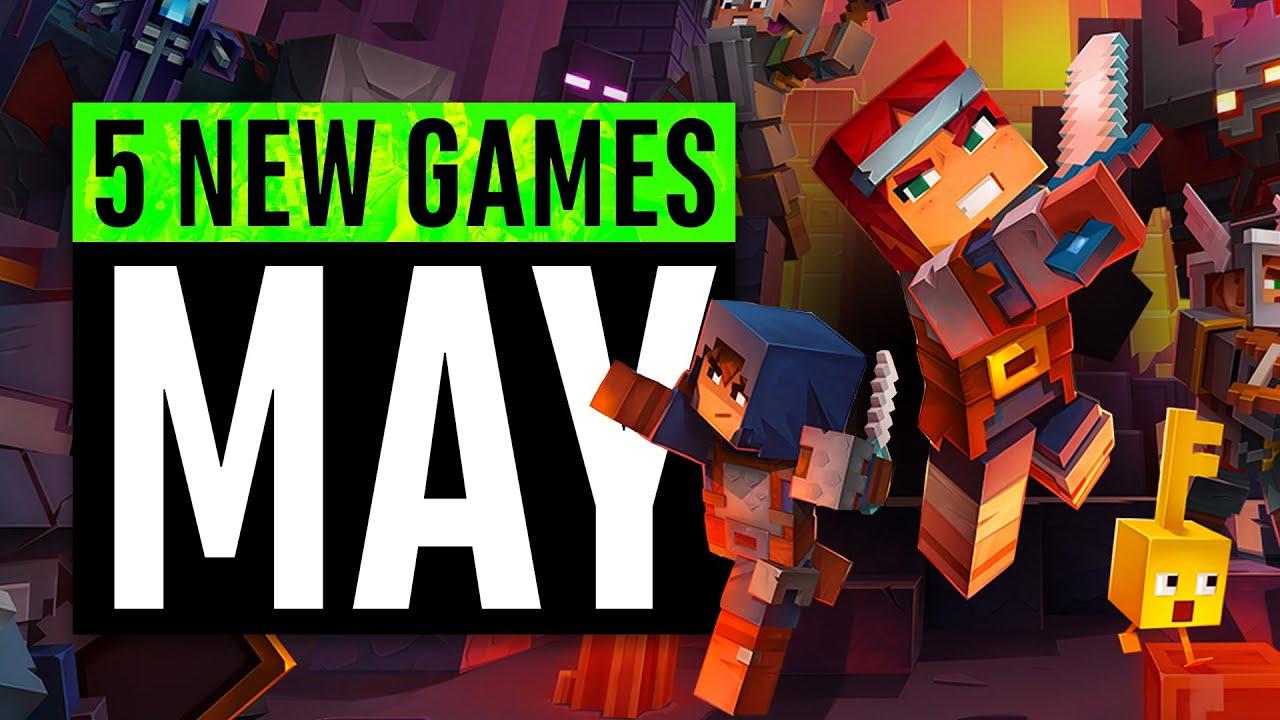 5 nuevos juegos de mayo (incluido un juego GRATUITO) + vídeo