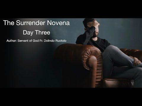 Day 3 Surrender Novena