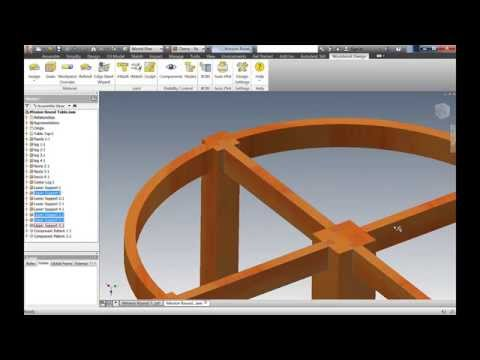 Mission Furniture - Autodesk Inventor - Woodworking