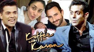 Repeat youtube video Salman Khan On Koffee With Karan 5, Kareena To DELIVERY BABY On Salman Khan's Birthday