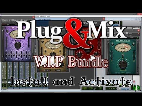 Plug & Mix V.I.P. Bundle - Install And Activate