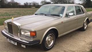 ROLLS-ROYCE SILVER SPIRIT 49k MILES CLASSIC CAR VIDEO REVIEW