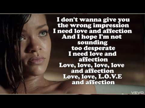 Rihanna ft. Future - Love Song (Lyrics On Screen)