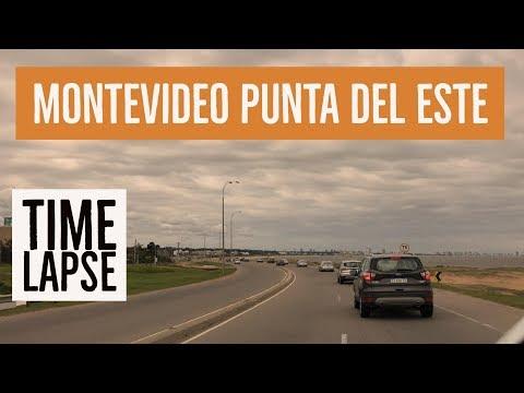 Montevideo Punta del Este - Time Lapse