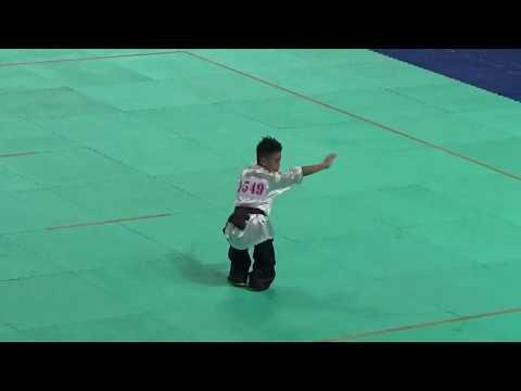 108年全國中正盃國武術錦標賽 國小男子內家拳 公正國小 江旻恩
