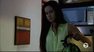 Stefania Godoy Actriz Colombiana Mostrando Tanguita Amarilla Pijama Amarilla