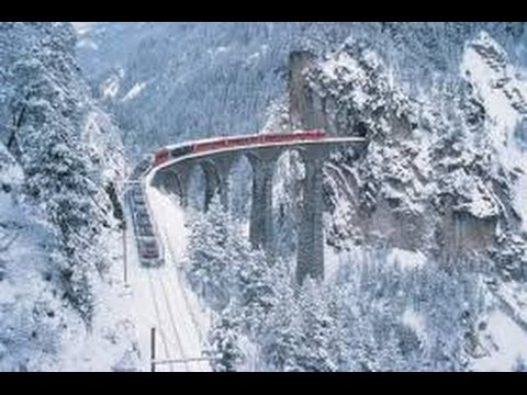 Free Live Fall Wallpaper Riding The Glacier Express Chur Zermatt Youtube