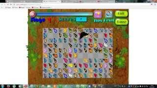 видео Игра логика маджонг бабочки во весь экран