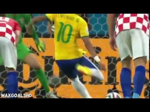 Brazil vs Croatia 3 1 ~ All Goals & Highlights   Video Dailymotion