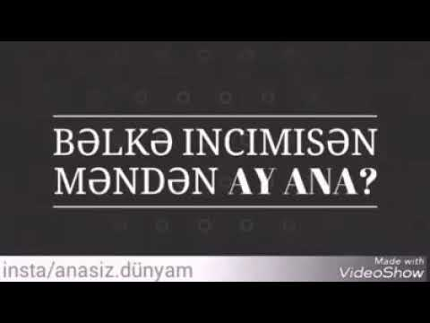 Ana haqqinda status ALLAH ANALARİ QORUSUN