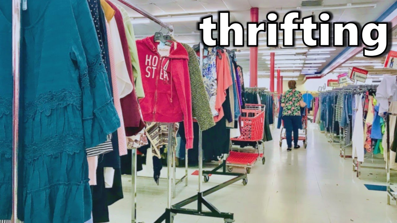 What It's Like Thrifting On A Thursday