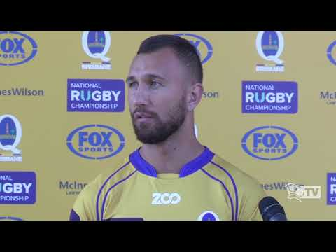 Wallaby flyhalf Quade Cooper about hosting Fijian Drua at Ballymore