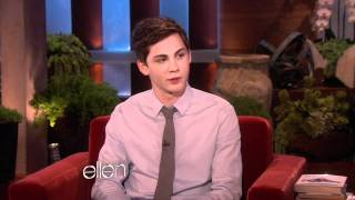 Ellen Chats with Logan Lerman