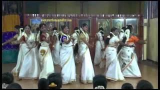 """Onam 2015 - Kaikottikai """"Adhikalai neram and Kannanai kupidu..."""""""