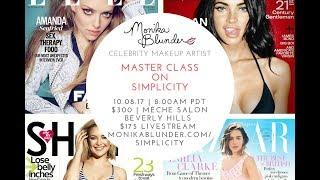 Monika Blunder Live Stream Masterclass 10/8/17