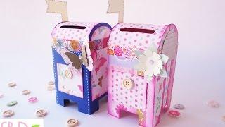 Cassetta Delle Lettere Salvadanaio Tutorial - Money Saver Mailbox Diy