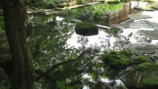 """平戸の「棲霞園(せいかえん)」跡(一般非公開) The ruins of """"Seikae..."""
