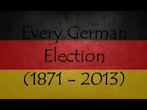 Every German Election (1871 - 2013) (german subtitles) (50 Subs)