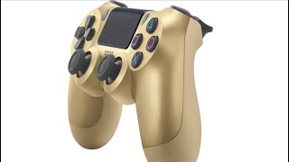 UNBOXING: Gold PlayStation 4 Controller!