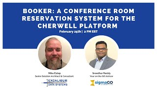 Booker: A Conference Room Reservation System For The Cherwell Platform