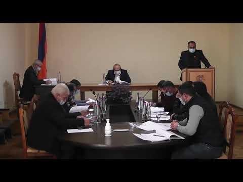 Սիսիանի համայնքի ավագանու նիստ 05.03.2021