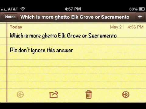 Elk grove ghetto