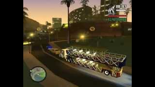 Carreta Limão Doce - GTA San Andreas