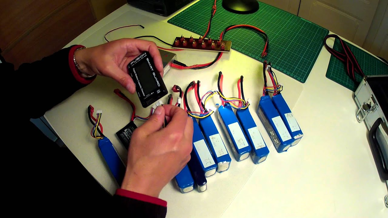 Lipo Batteries Parallel Charging Youtube Wiring In
