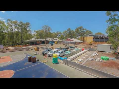 UON Park on the Hill construction - the University of Newcastle, Australia
