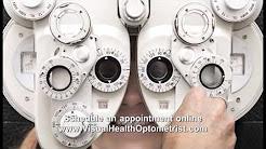 Optometrist, Eye doctor at Visual Health Doctors of Optometry www.visualhealthoptometrist.com