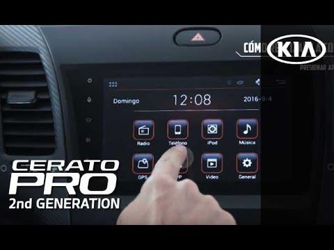 Cerato Pro 2nd Generation   Conectividad de telefono en Kinet