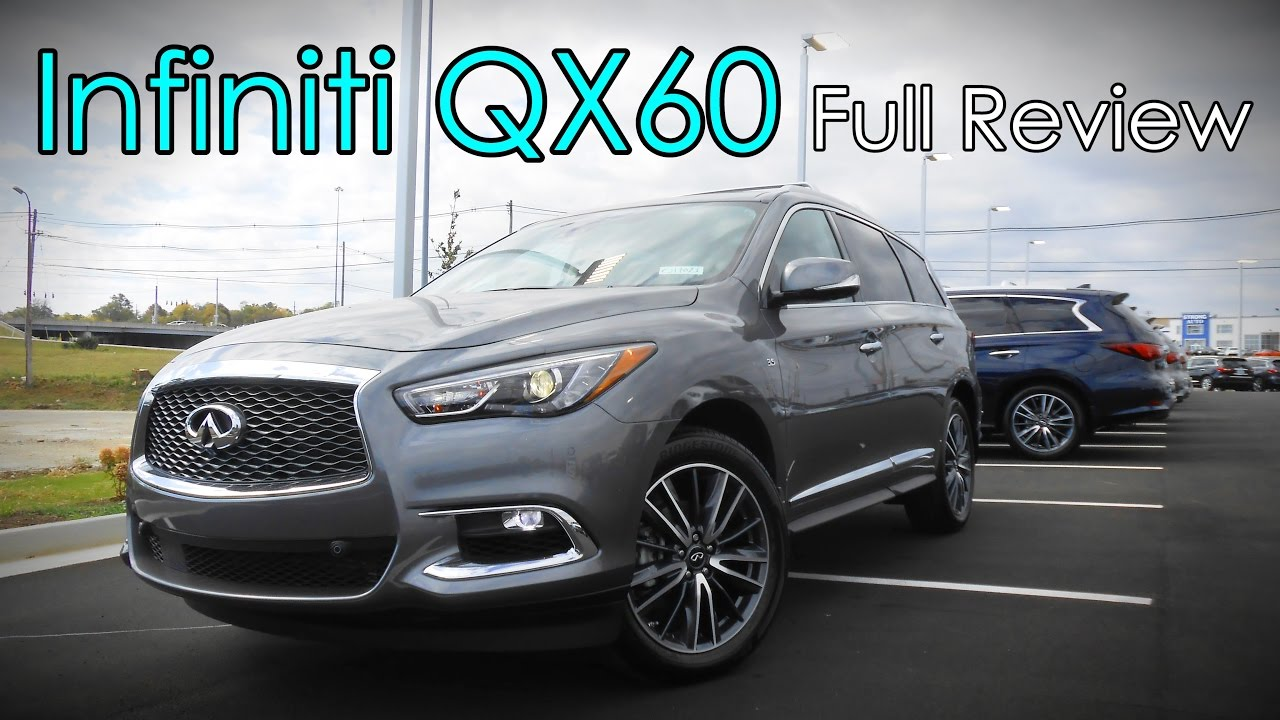 2017 infiniti qx60 full review 3 5 and hybrid youtube. Black Bedroom Furniture Sets. Home Design Ideas