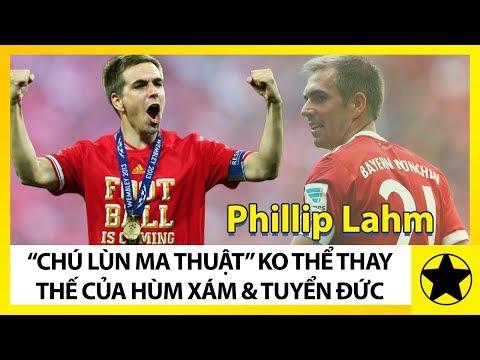 Phillip Lahm - 'Chú Lùn Ma Thuật' Không Thể Thay Thế Của Hùm Xám Và Tuyển Đức