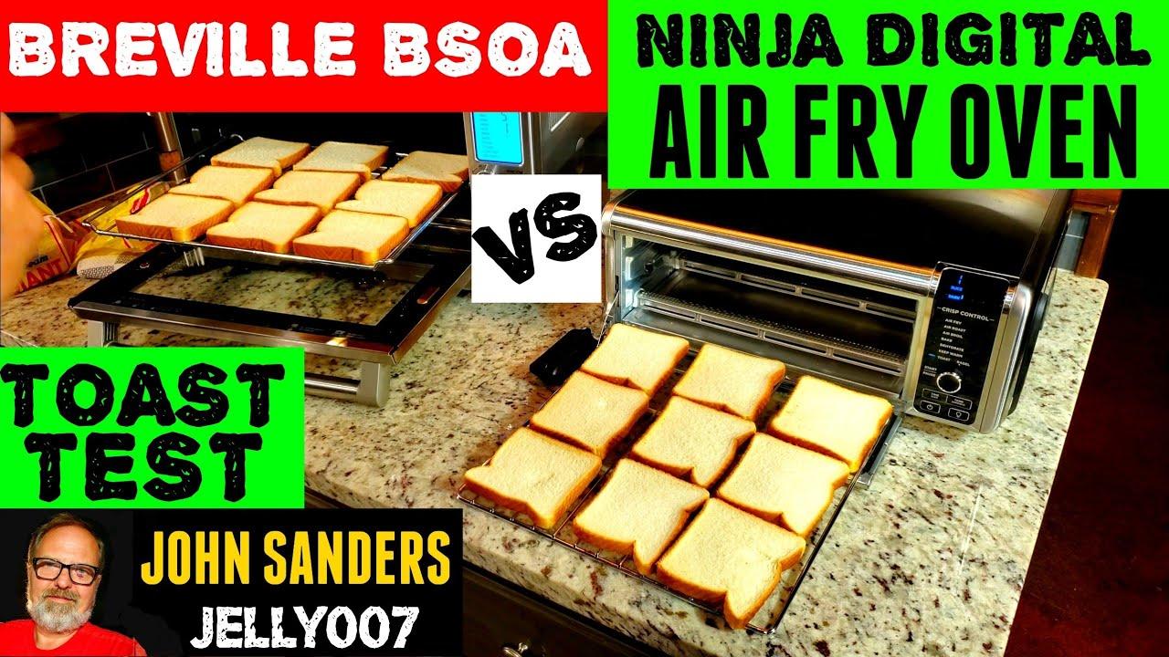 Ninja Foodi Digital Air Fry Oven Toast Bagels Vs Breville