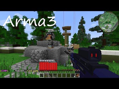 VFW - Minecraft เซิฟMinefestation Thailand แนว Arma3 หัวร้อน