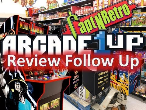 Arcade1Up Review Follow Up ~ New Games Announced? ~ Talking Retro Podcast