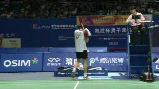 F - MD - Cai Yun / Fu Haifeng vs. Jung J. S. / Lee Y. D. - 2011 Li Ning China Masters