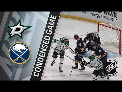 01/20/18 Condensed Game: Stars @ Sabres