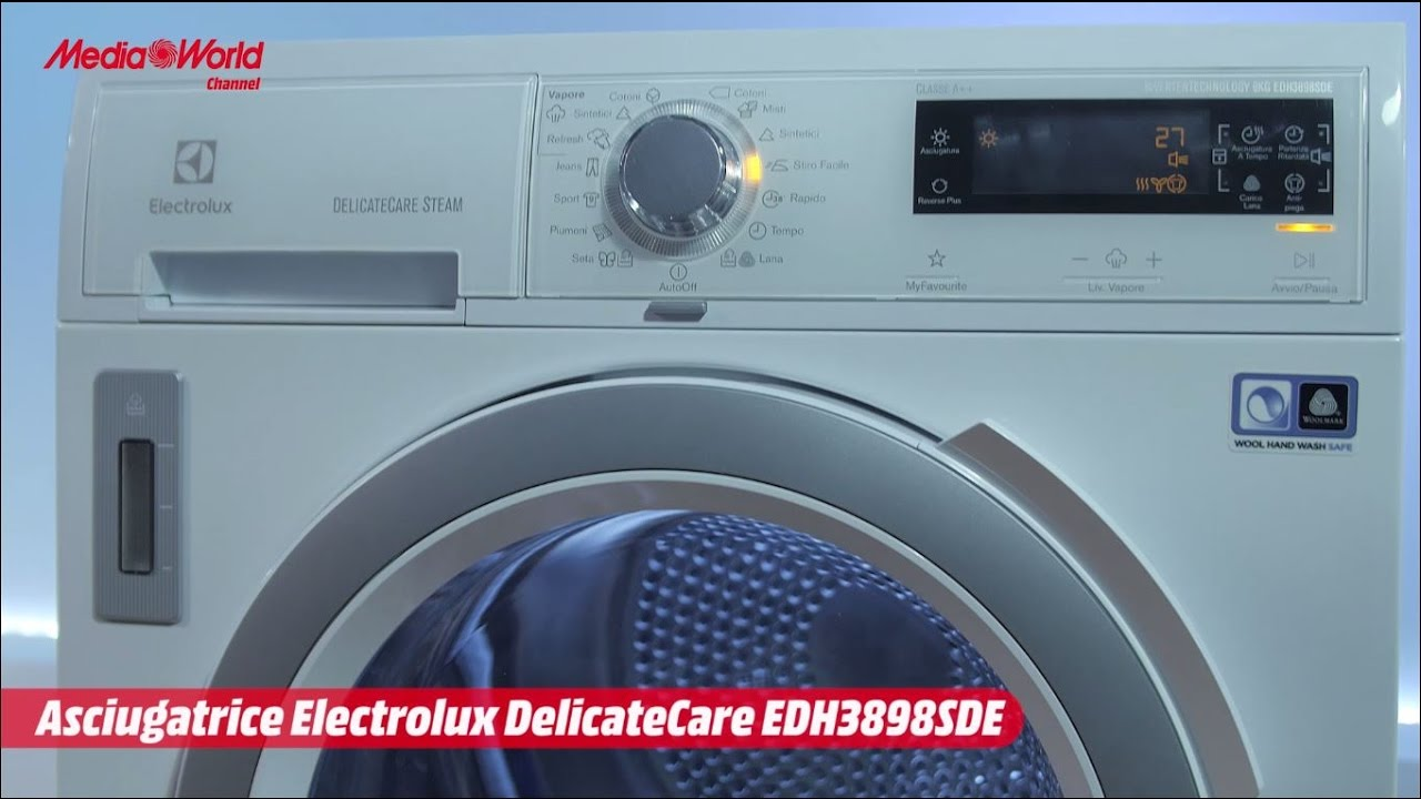 Nice Asciugatrice Electrolux DelicateCare   Video Recensione     YouTube