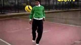 Talentierte Ballkünstler