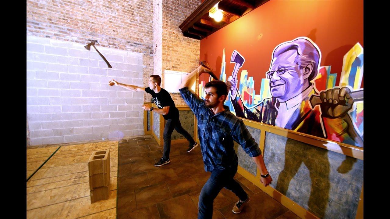 Axe throwing chicago