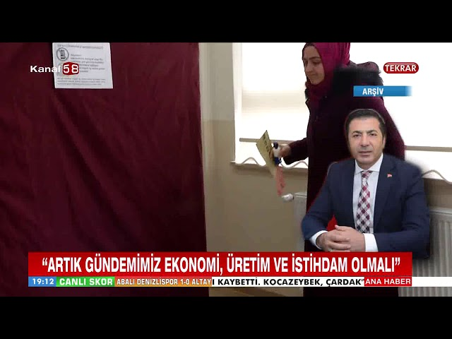 Kanal 58 Seçim değerlendirmesi 03 04 2019